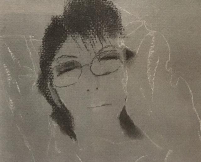 Chân dung của bà do chính nhạc sĩ phác họa