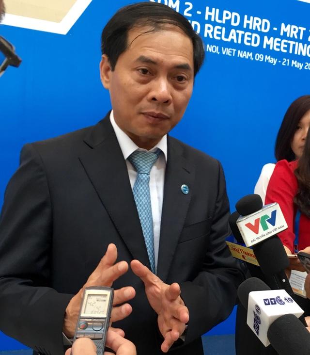 Thứ trưởng Bộ Ngoại giao Việt Nam Bùi Thanh Sơn - Chủ tịch SOM 2