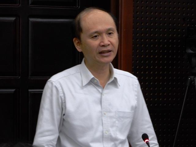 Thứ Trưởng Lê Quang Cường phát biểu tại buổi làm việc