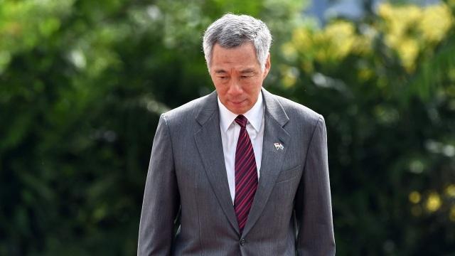 Thủ tướng Singapore Lý Hiển Long. (Ảnh: AFP)