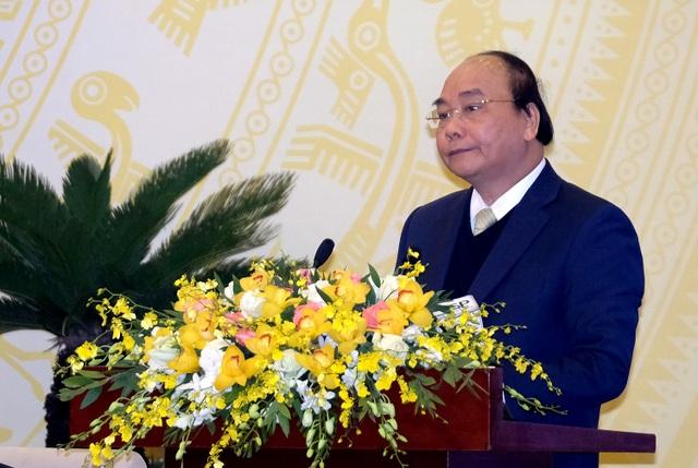 Người đứng đầu Chính phủ dẫn chứng từ hiện tượng người dân ở khắp nơi kéo về Hà Nội, TPHCM để khiếu nại; đó là do chúng ta không chịu đối thoại với dân. Ảnh VGP/Quang Hiếu