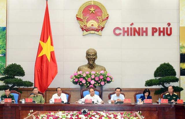 Thủ tướng chủ trì cuộc họp về tình hình an ninh trật tự với các địa phương