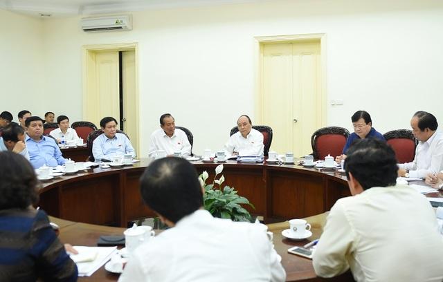 Thủ tướng triệu tập họp Chính phủ ngay sau khi vừa rời Quốc hội.