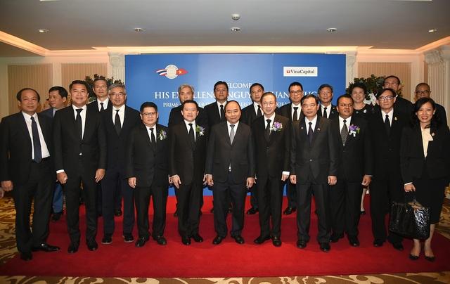 Thủ tướng Nguyễn Xuân Phúc gặp gỡ các Tập đoàn kinh tế hàng đầu Thái Lan