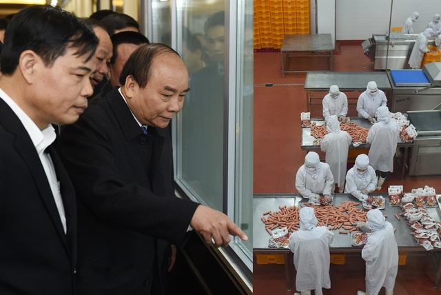 Thủ tướng thăm nhà máy của Dabaco.
