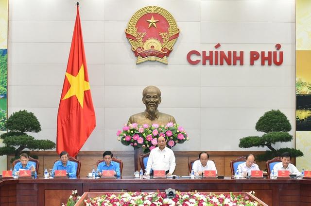 Thủ tướng chủ trì cuộc họp về Quy chế về mối quan hệ công tác giữa Chính phủ và Tổng Liên đoàn năm 2016-2017