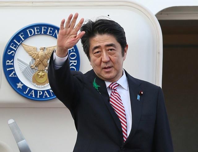Thủ tướng Nhật Bản Shinzo Abe (Ảnh: AFP)
