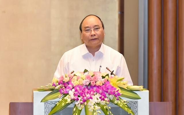 Thủ tướng phát biểu tại hội nghị (ảnh: VGP)