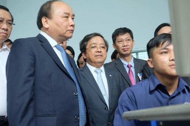 Thủ tướng Nguyễn Xuân Phúc thăm trường ĐH Bách khoa Đà Nẵng