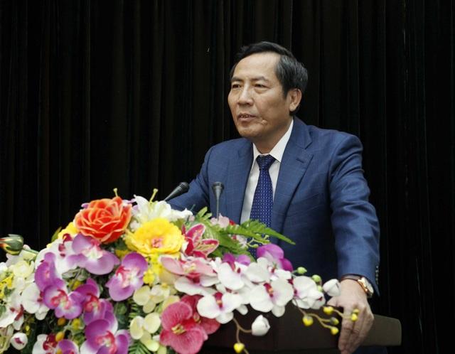 Ông Thuận Hữu (Nguyễn Hữu Thuận), Ủy viên Trung ương Đảng, Tổng Biên tập Báo Nhân dân, Chủ tịch Hội Nhà báo Việt Nam.