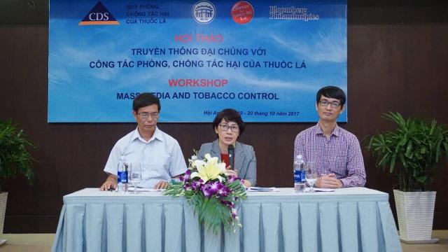 Bà Phan Thị Hải cùng các chuyên gia tại hội thảo. Ảnh: Phú Thọ.