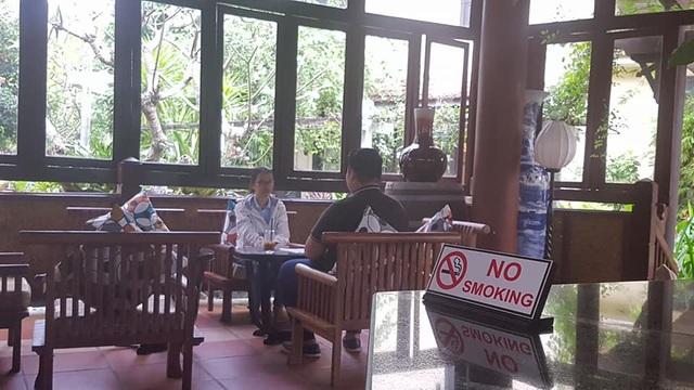 Bên trong các khách sạn ở Hội An đều quy định rõ điểm cấm hút thuốc...