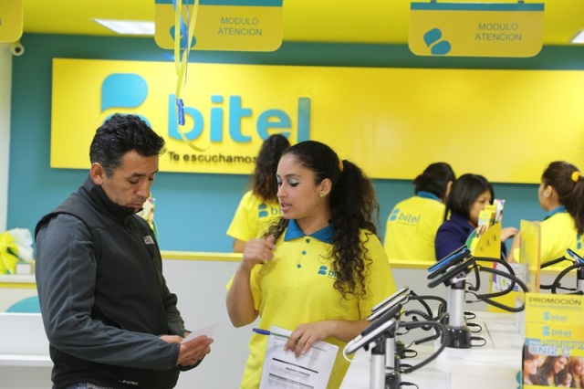 Thương hiệu của Viettel tại thị trường Peru.