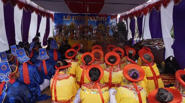 Khởi công  đúc tượng Lạc Long Quân tại ngôi đình hơn 300 năm tuổi - 3