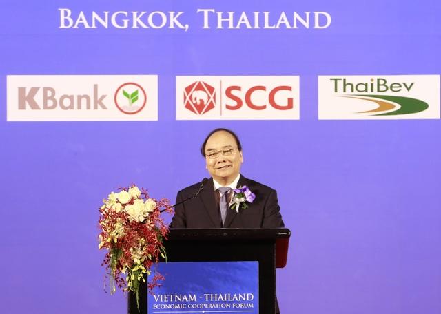 Thủ tướng chia sẻ về cơ hội đầu tư vào Việt Nam với các DN Thái Lan
