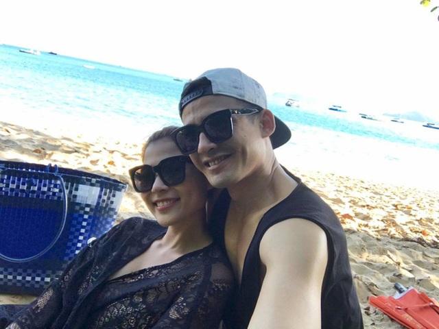 Lương Thế Thành - Thúy Diễm tình tứ bên bờ biển Thái Lan - 8