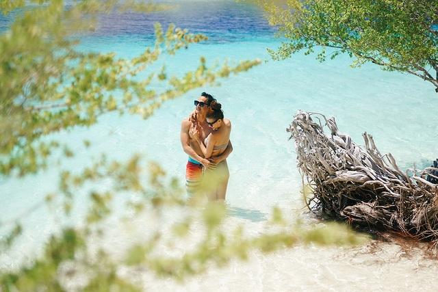 Thúy Diễm diện bikini nóng bỏng bên ông xã Lương Thế Thành - 16