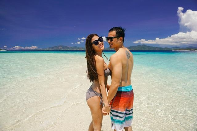 Thúy Diễm diện bikini nóng bỏng bên ông xã Lương Thế Thành - 4
