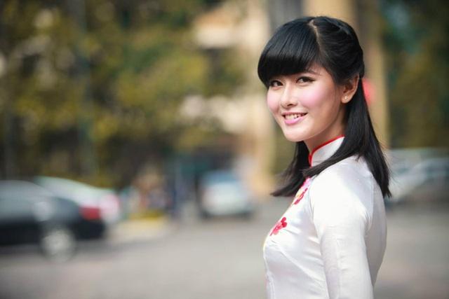Phạm Thị Thùy Linh từng là hoa khôi ĐH Ngoại thương Hà Nội năm 2011.