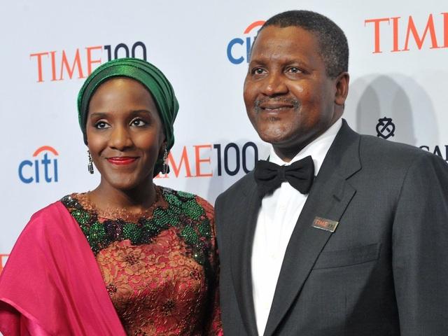 Aliko Dangote, tỷ phú người Nigeria hiện đang sở hữu khối tài sản lên tới 12.2 tỷ USD
