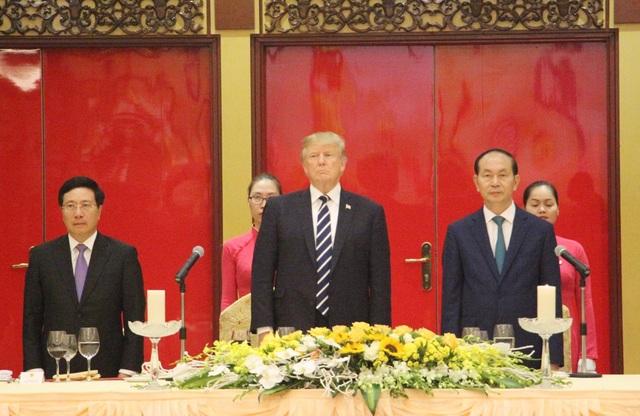 Chủ tịch nước mở tiệc chiêu đãi cấp Nhà nước Tổng thống Donald Trump - 4