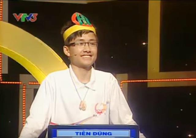 Tiến Dũng - học sinh trường THPT Chuyên Hà Tĩnh - chàng trai rạng rỡ Olympia năm ấy ...