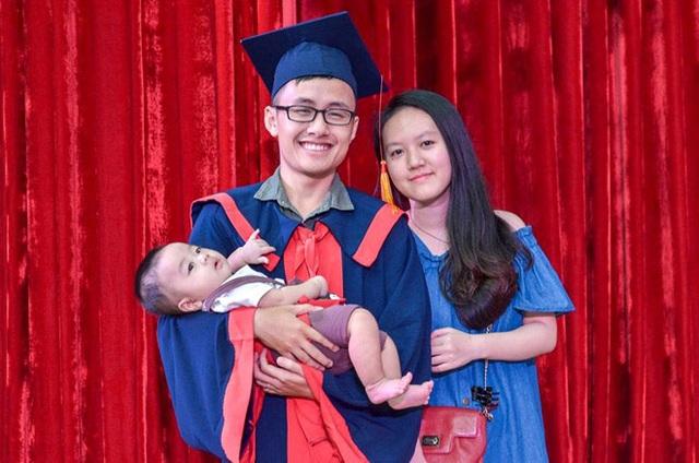 ...giờ đã tốt nghiệp đại học và có gia đình êm ấm.