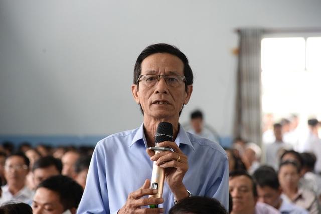Cử tri Huỳnh Văn Mẫm phản ánh cầu sắt xuống cấp nguy hiểm đến tính mạng người dân