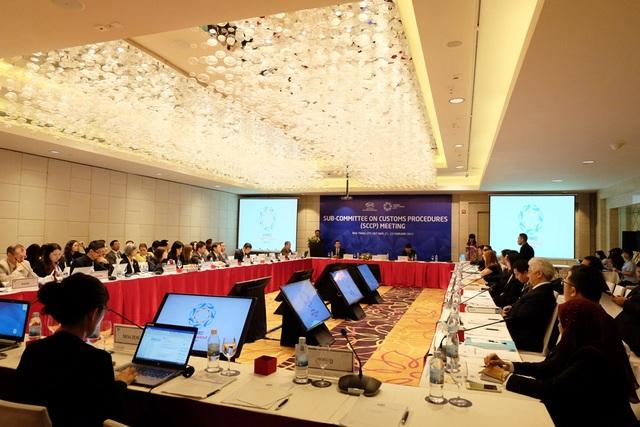 Cuộc họp Tiểu ban Thủ tục Hải quan của APEC vừa khai mạc sáng nay 21/2