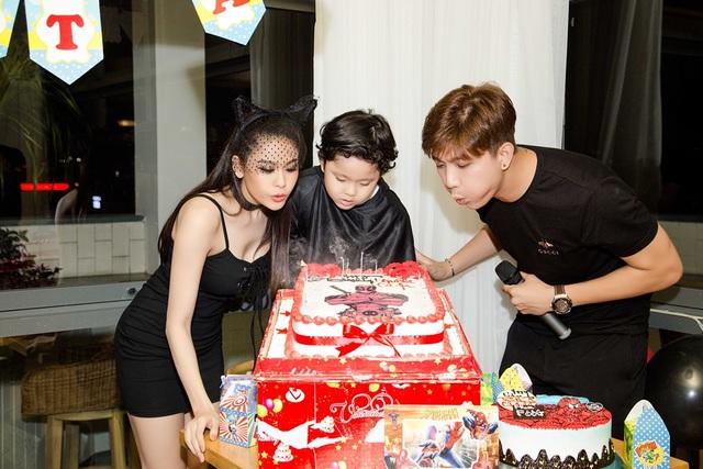 Trương Quỳnh Anh – Tim cùng tổ chức sinh nhật hoành tráng cho con trai - 7
