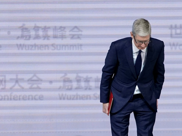 CEO Tim Cook của Apple.