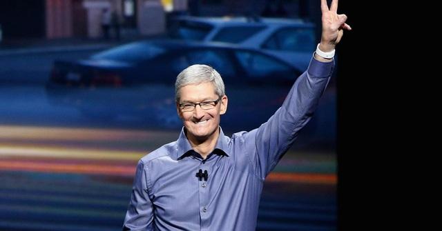 Tim Cook là CEO được trả lương cao thứ hai của năm 2016 với 150.036.907 USD. (Nguồn: Getty Images)
