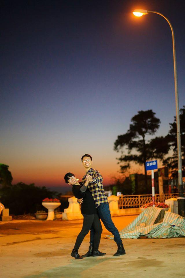 """Một bức ảnh theo phong cách """"La la Land"""" tại Tam Đảo của """"Song Minh""""."""