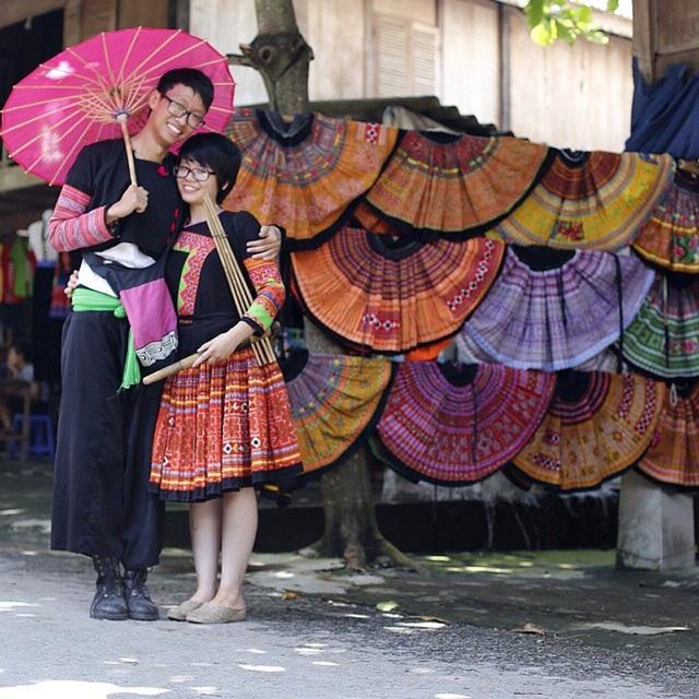 Cả hai đã cùng nhau có những trải nghiệm đáng nhớ trên những cung đường Mai Châu (Hoài Bình)...