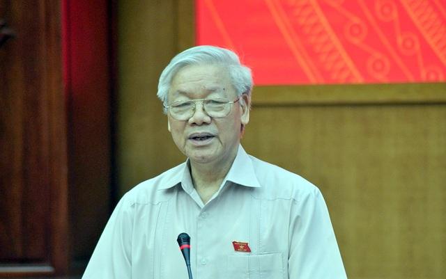 Tổng Bí thư Nguyễn Phú Trọng hồi đáp những vấn đề nóng cử tri nêu lên tại buổi tiếp xúc cử tri trước kỳ họp Quốc hội