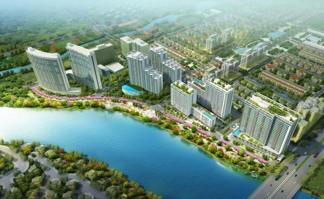 Phú Mỹ Hưng Midtown được đầu tư như 1 resort 5 sao, sẽ hoàn thành giai đoạn 1 vào năm 2019