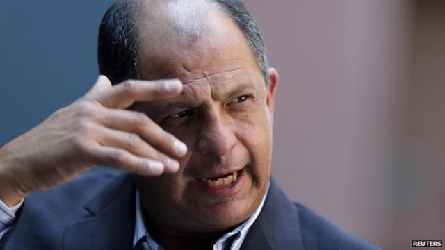Tổng thống Costa Rica Luis Guillermo Solis Rivera (Ảnh: Reuters)