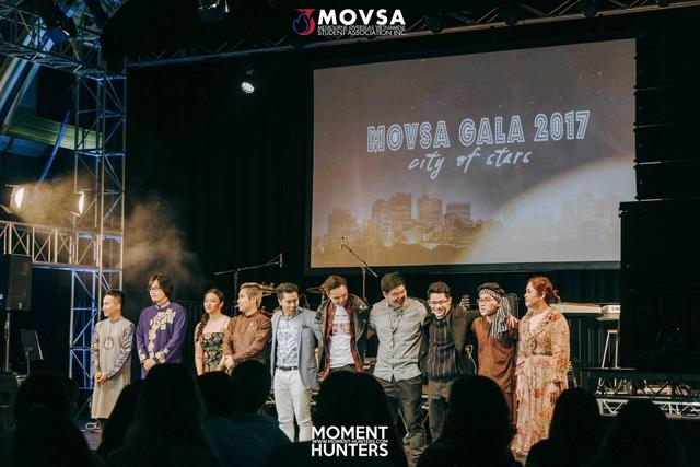 10 thí sinh xuất sắc nhất trên sân khâu chung kết Movsa Gala 2017 tại Australia
