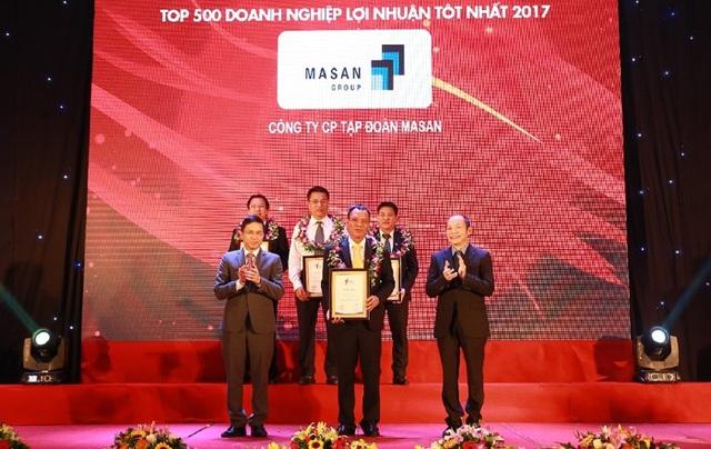 Tập đoàn Masan thuộc Top 5 Doanh nghiệp Tư nhân Lớn nhất Việt Nam