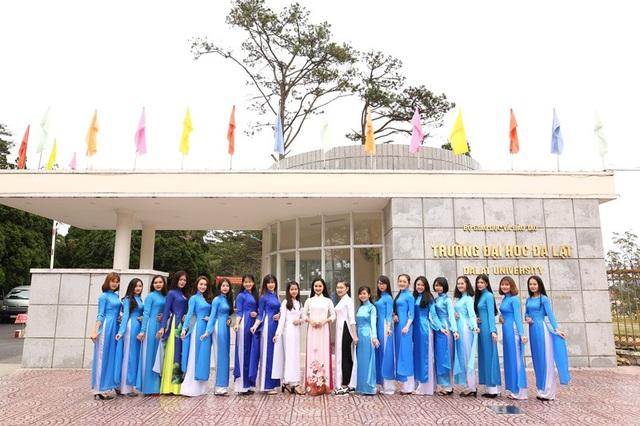 Thí sinh Hoa khôi Sinh viên là đại biểu ĐH Đoàn toàn quốc XI - 6