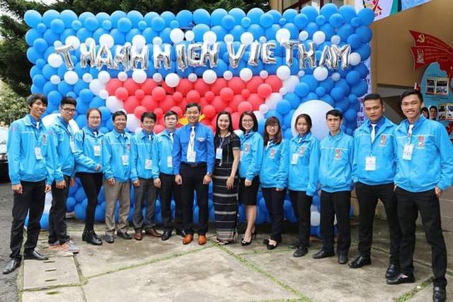 Thí sinh Hoa khôi Sinh viên là đại biểu ĐH Đoàn toàn quốc XI - 5
