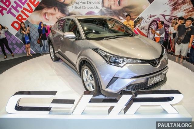Toyota C-HR rục rịch ra mắt thị trường ASEAN - 1