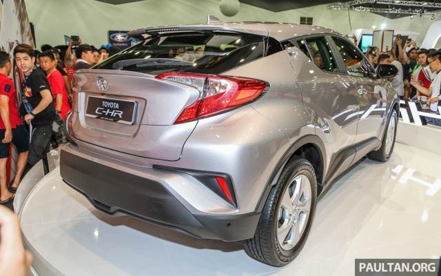 Toyota C-HR rục rịch ra mắt thị trường ASEAN - 6