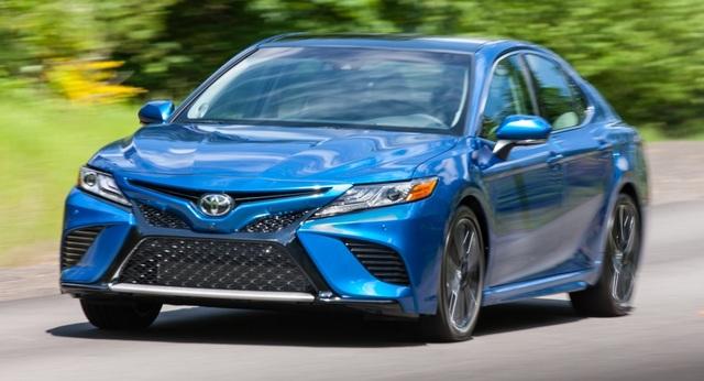 Toyota Camry 2018 tại Mỹ có gì? - 1