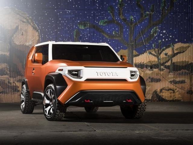 FT-4X thể hiện ý tưởng phá cách của Toyota - 1