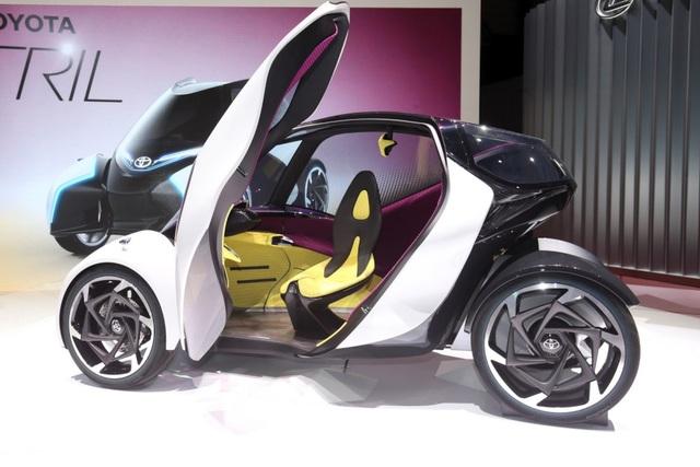 Toyota i-TRIL hướng tới tương lai - 1
