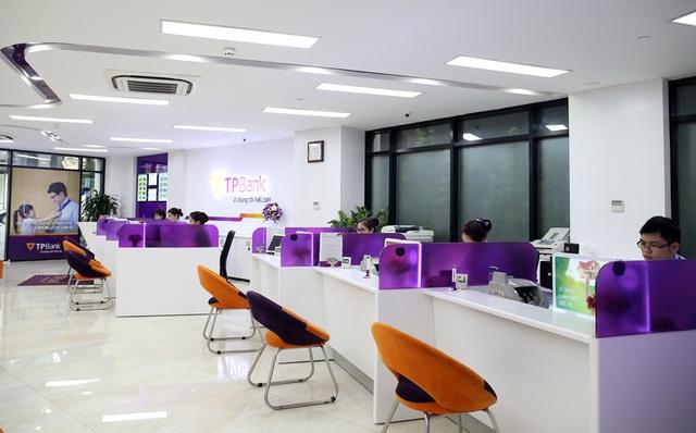 Chi nhánh và các điểm giao dịch của TPBank được xây dựng theo các chuẩn mực quốc tế, hiện đại và thân thiện