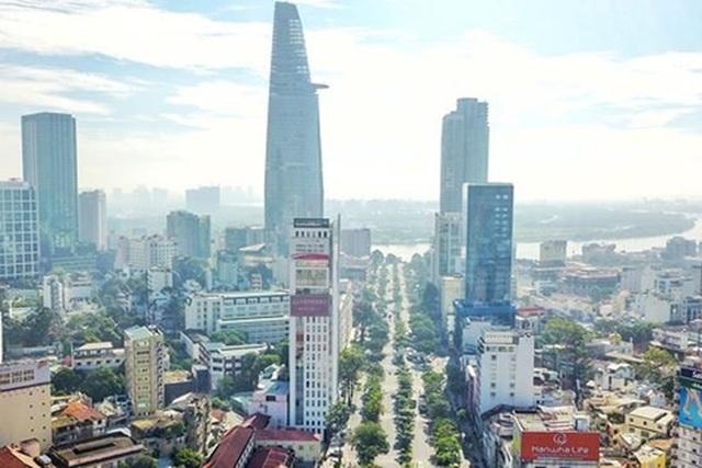 TP HCM đang xây dựng đề án đô thị thông minh. Ảnh: Giang Hồng