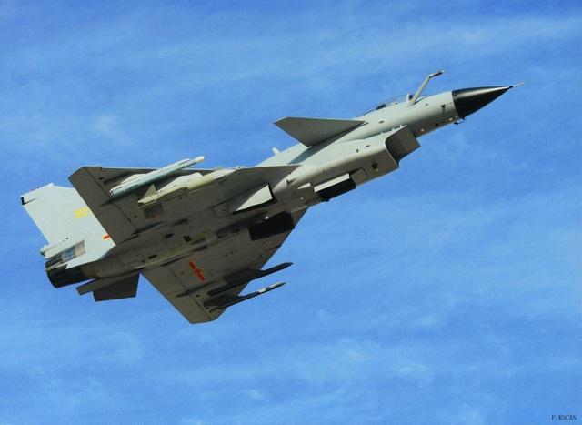 Một máy bay chiến đấu J-10 của Trung Quốc. (Ảnh: Military)