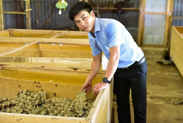 Trung bình mỗi tháng cơ sở anh Kiên xuất ra thị trường khoảng 4 tấn. Với giá bán dao động khoảng 400 nghìn đồng/kg rắn mối; 250 nghìn/kg bọ cạp, 400 nghìn/ kg tắc kè… sau khi trừ các chi phí, anh Kiên thu lãi mỗi tháng khoảng 100 triệu đồng.